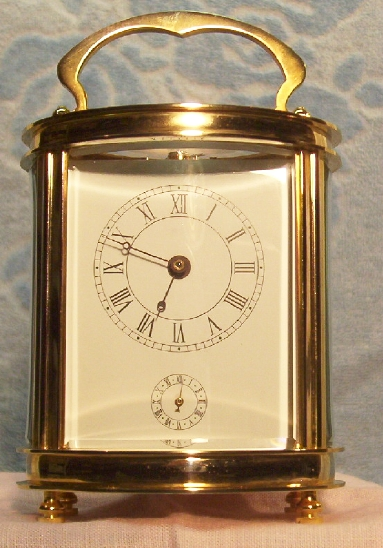 Small Carriage clock with alarm