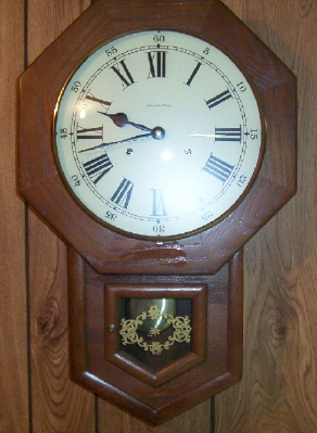 Hamilton Time and Strike Wall Clock